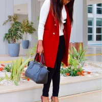 STYLING: A VEST COAT